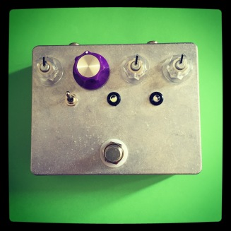 Custom Pedal 51 - another variation on my CMOS experiments, this one with some fun, responsive NOS clipping diodes and LED's and whatnot.