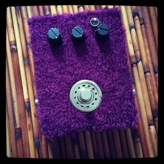Custom Pedal 52. An Octavia. Covered in