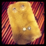 Custom Pedal 56 - the Platano Peludo. It's a Platano Verde covered in fur. What more can you ask for?