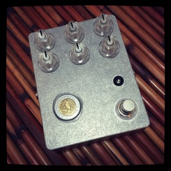 Number 59 - Another one of those feisty vibrato pedal's I've been known to make. This one's headed to San Diego, by way of New York